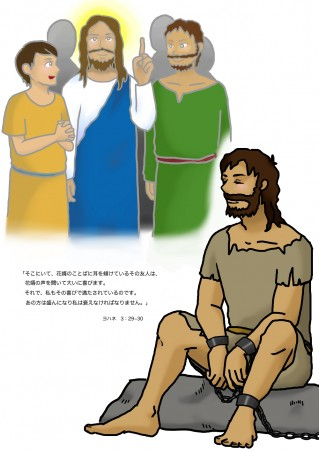 獄中のヨハネ
