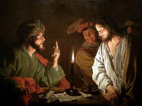 Christ Before Caiaphas(カヤパの前に立つキリスト)