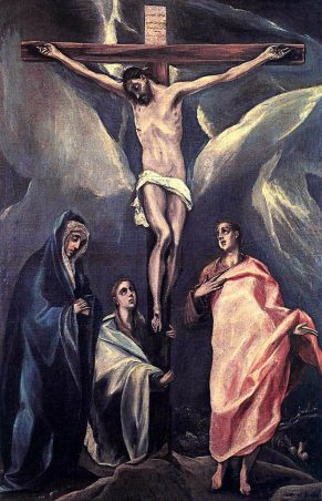Christ on the Cross with the Two Maries and St John(十字架上のキリストと2人のマリアと聖ヨハネ)