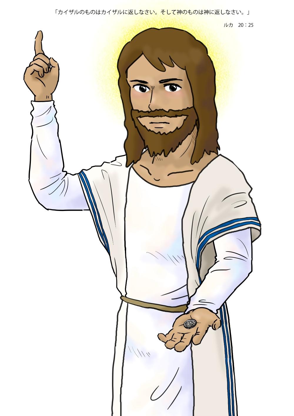 神のものは神に