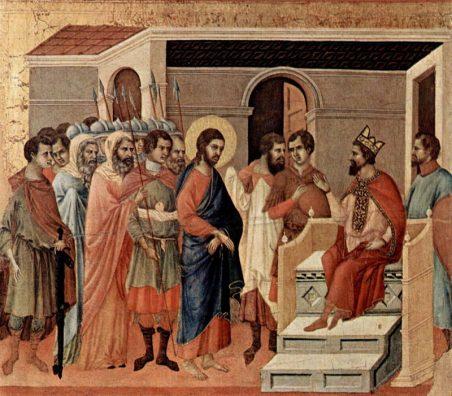 Jesus at Herod's Court(ヘロデ邸のイエス)