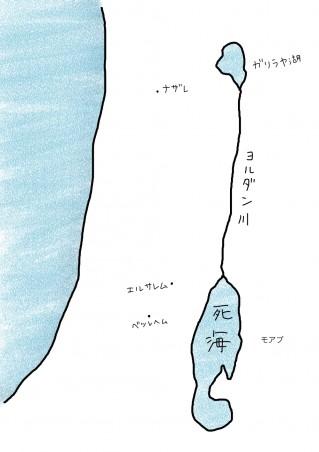map-エルサレム・ベツレヘム・モアブ