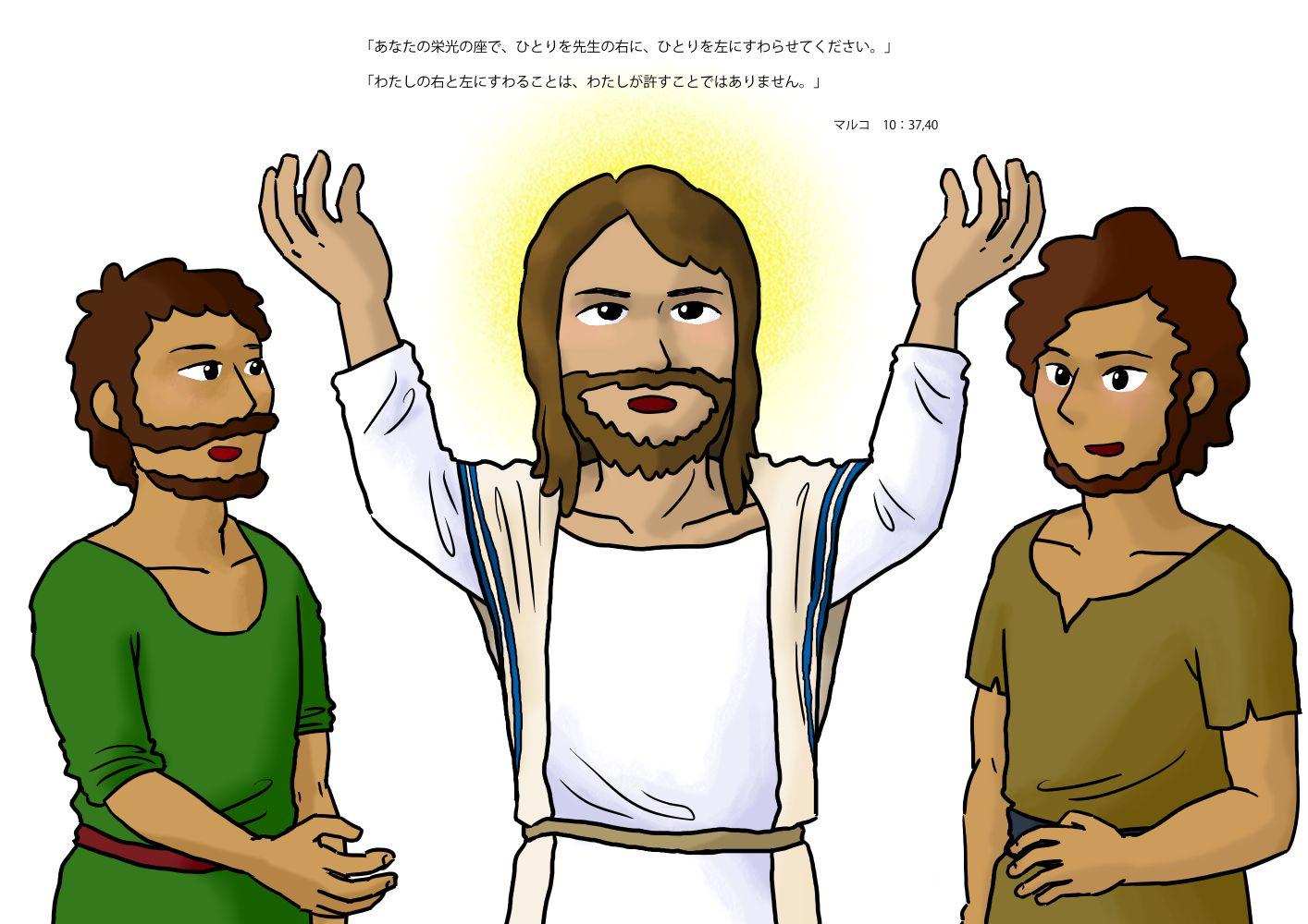 ヤコブとヨハネの頼み事