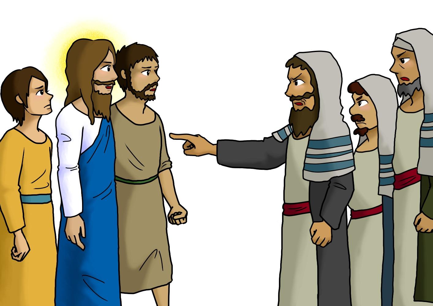 律法学者にお答えになるイエス(2)