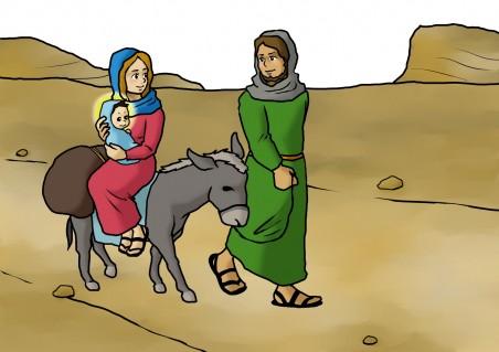 聖家族の帰郷(降誕劇)